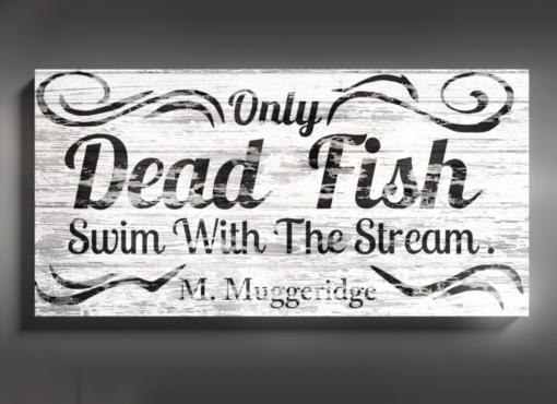 FISH quote sign