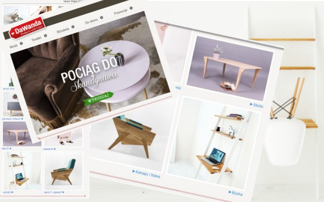 Dawanda Newsletter – skandynawski design