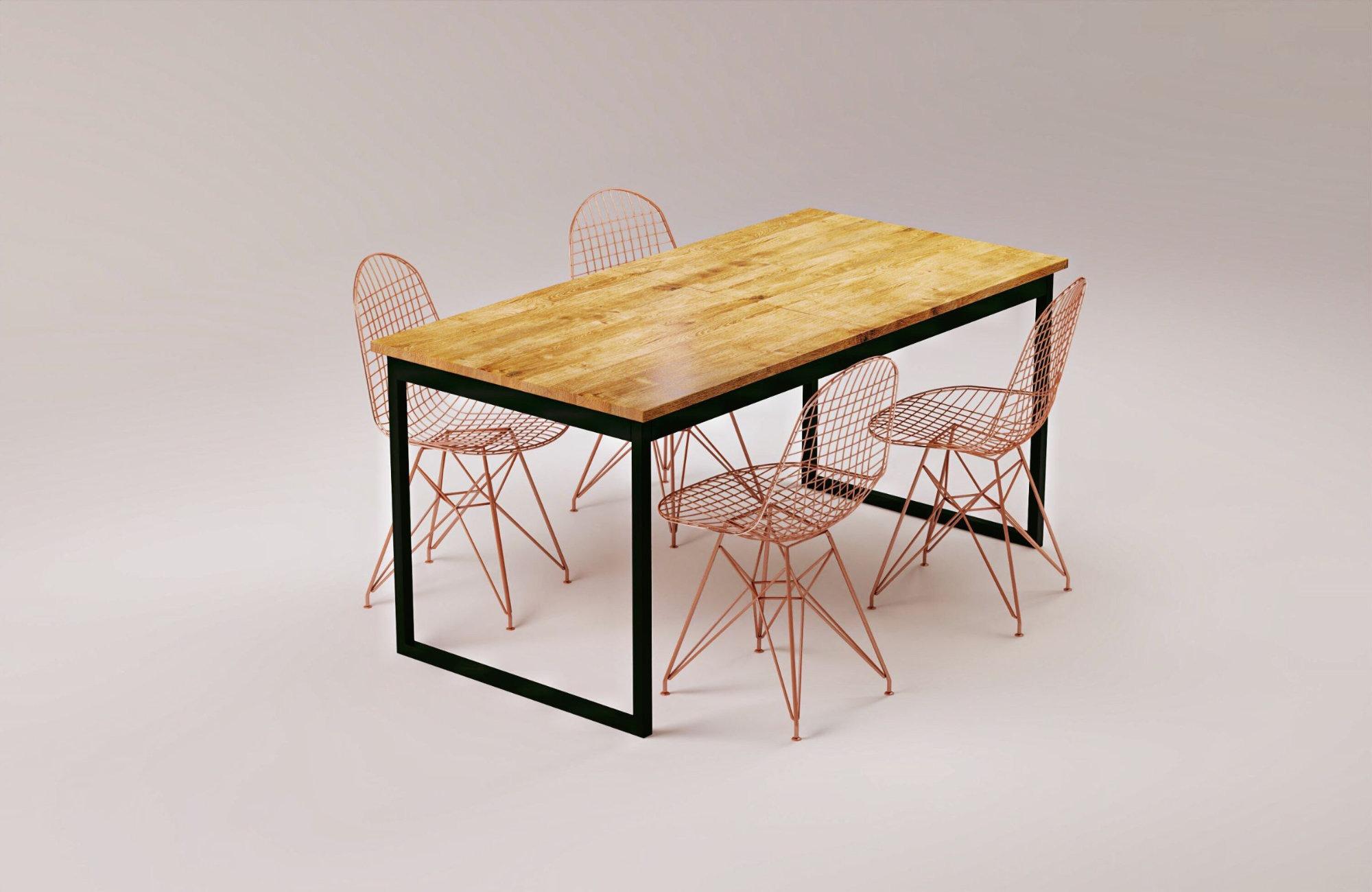 2_VIS modern extendable table