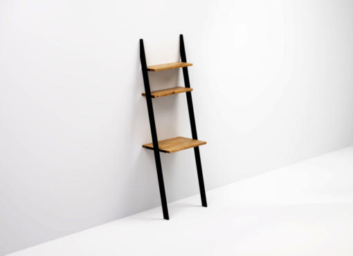 BELLO BLACK ladder desk