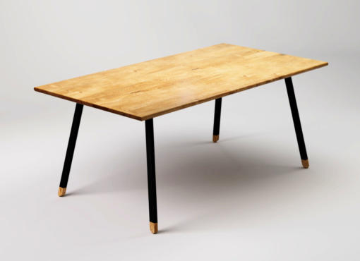 FINT BLACK industrial table