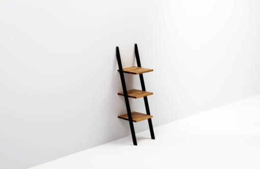 NANI BLACK ladder bookshelf