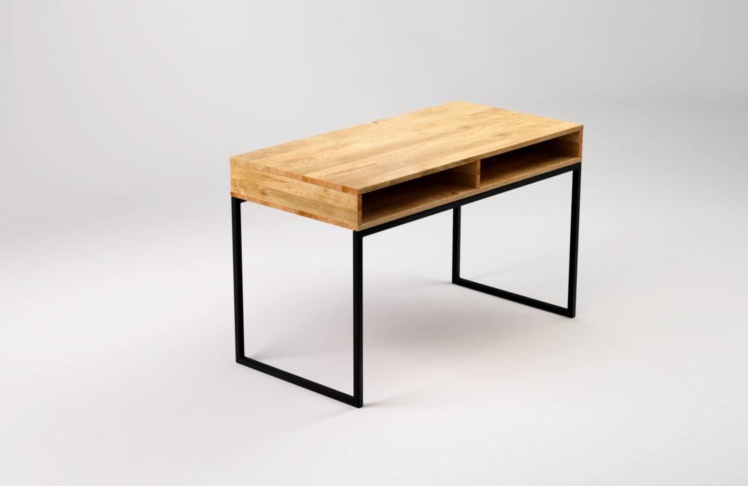 biurko-z-półką-light-bläck-główny-obraz