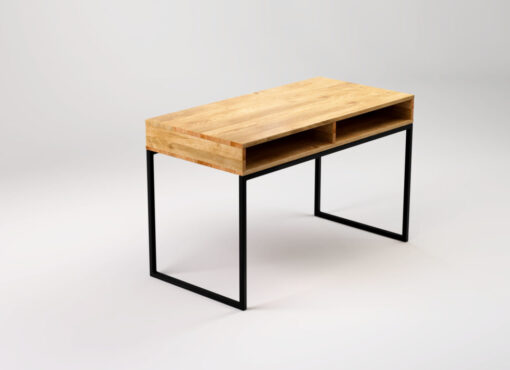 LIGHT BLACK Industrial desk