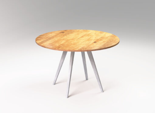 Solid wood round dining table MÅNE