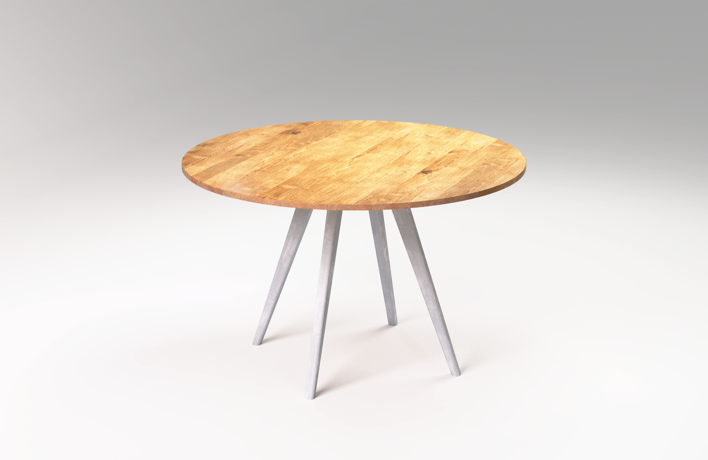 Måne Solid Wood Round Dining Table Sfd Furniture