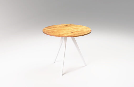 Wooden round table MÅNE. Scandinavian dining table
