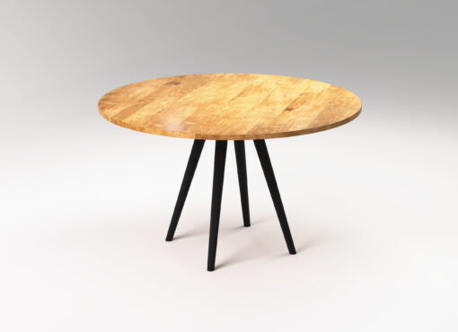 Modern round table SOL II from SFD Furniture.