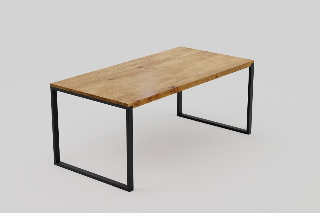 Black Forest – modern oak dining table