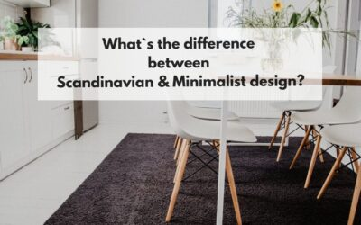 What`s the difference between Scandinavian & Minimalist design?