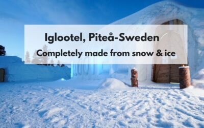 The IGLOOTEL, Lapland. An amazing opportunity for those looking for unusual winter experiences.